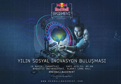 Red Bull Basement Festival 'daha iyi bir yarın'a odaklanacak