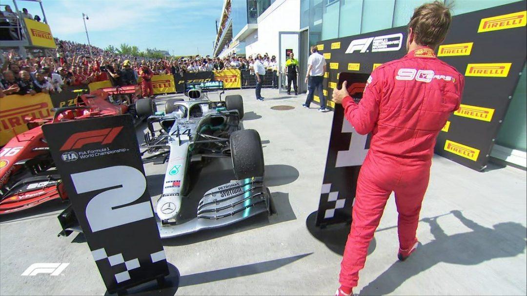 Olaylı yarış Hamilton'ın!