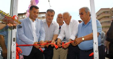 BovinyaPerde-Açılış-Kurdele kesme-Adem Murat Yücel - Nuri Demir-Ali Şahin