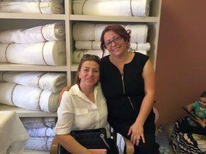 BovinyaPerde-Açılış-Saphir Hotel Sahiplerinden Fatma Saf Ziyareti