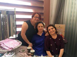 BovinyaPerde-Açılış-Vikingen Hotel sahipleri ziyareti ve Leyla Celayir Tunçer