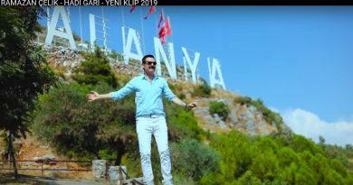 Bolulu Ramazan Çelik'in Alanya'da çektiği klip beğeniliyor.